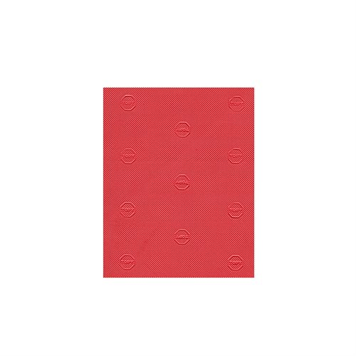 """TOPY ELYSEE SOLING SHEET RED 38X24"""" 1.5MM"""